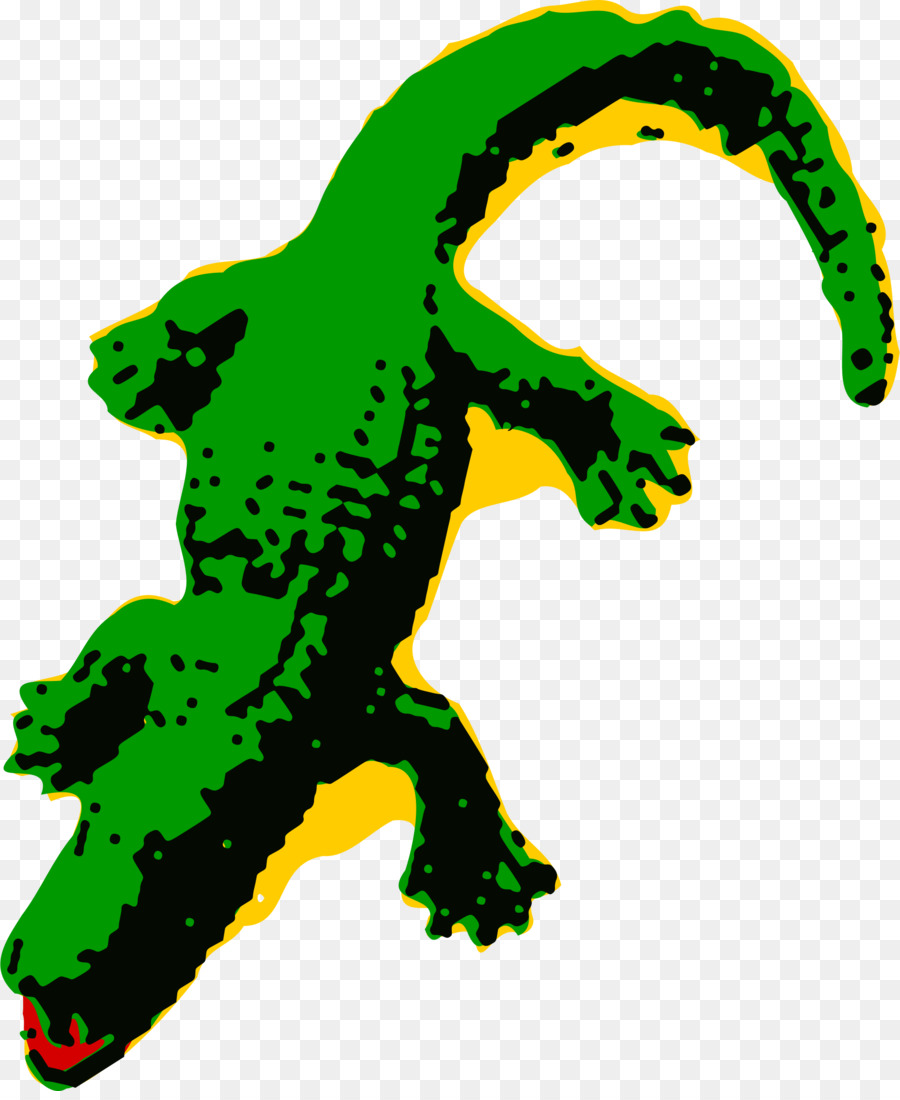 Alligator Cartoon clipart.
