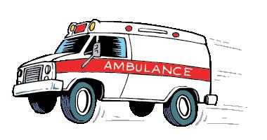 Animated Ambulance.