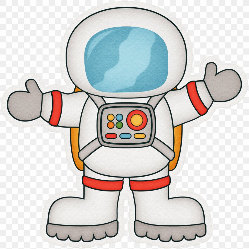 Astronaut Cartoon Outer Space Clip Art, PNG, 1306x1310px.
