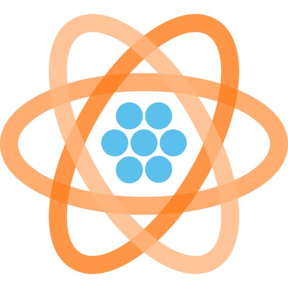atom graphic and animated SVG.