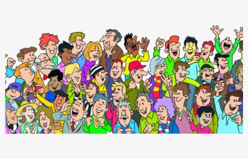 Free Audience Clip Art with No Background.