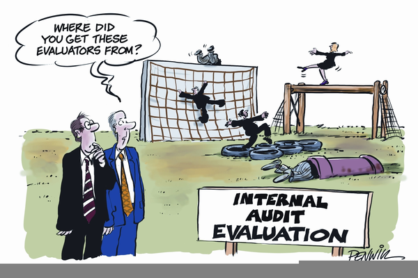 Auditor Cartoon.