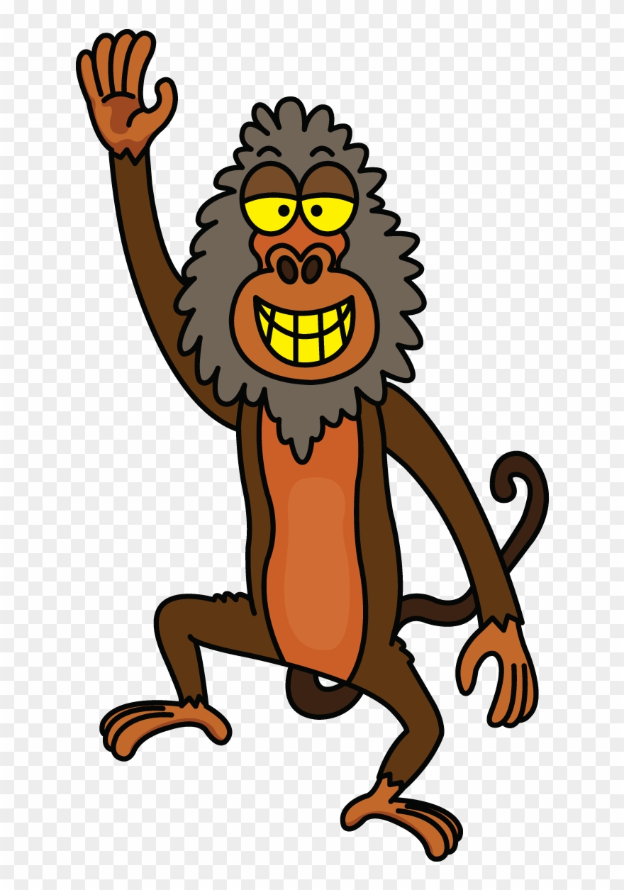 Baboon Animated Clipart (#4194114).