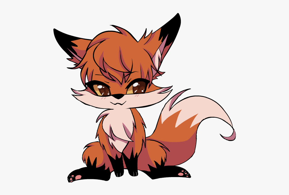 Anime clipart baby fox, Anime baby fox Transparent FREE for.