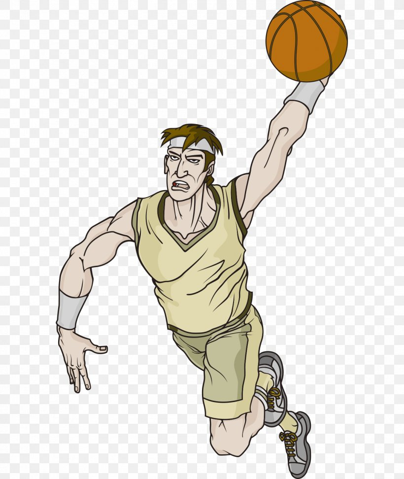 Cartoon Basketball Character Clip Art, PNG, 1376x1632px.