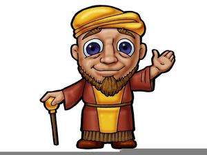 Bible Character Job Clipart.