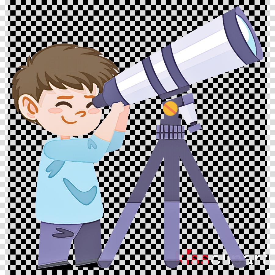 optical instrument telescope cartoon binoculars science.