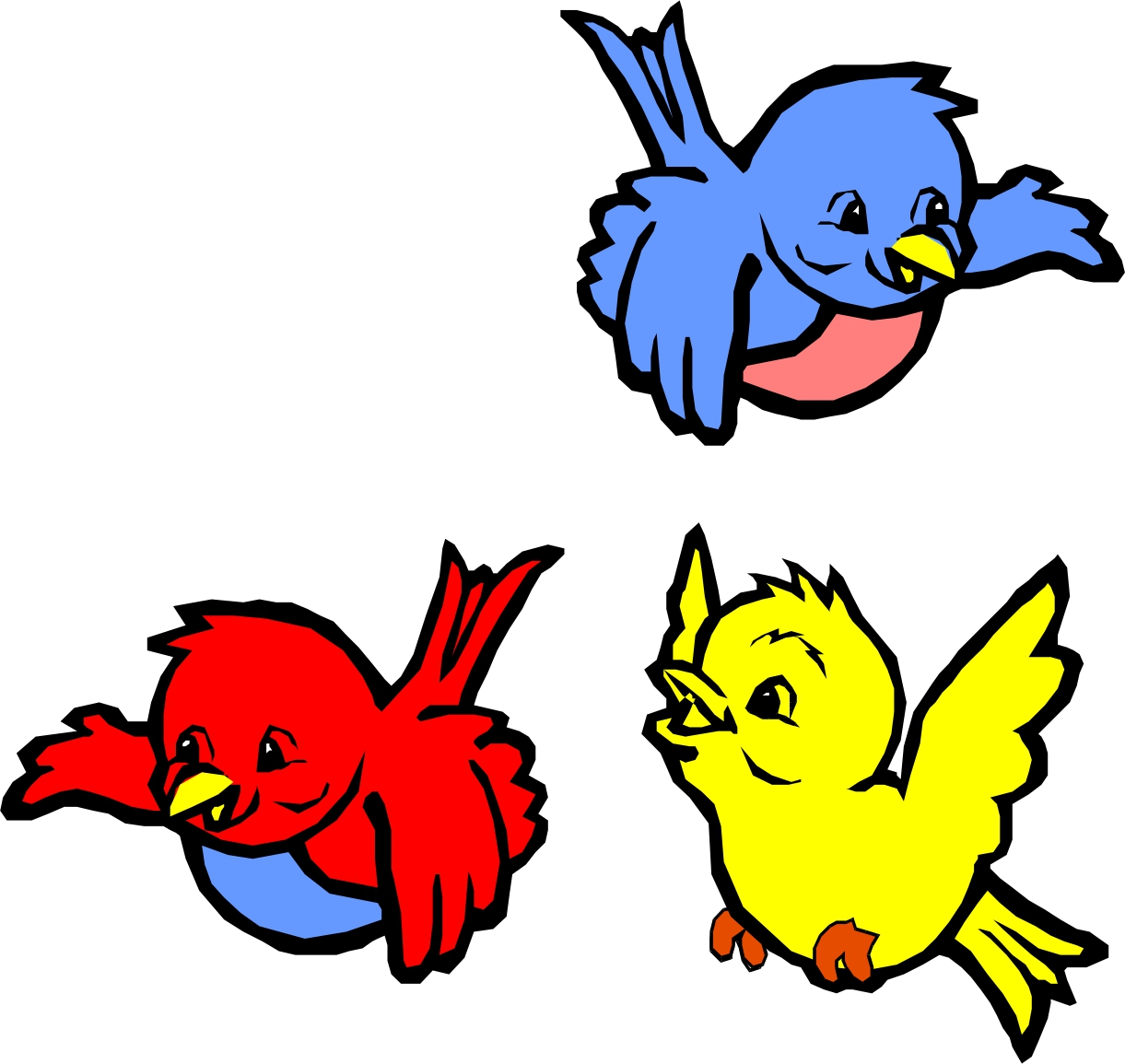 Bird Animated Birds Clipart Transparent Png.