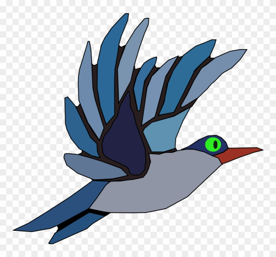 Animated Bird Clipart.