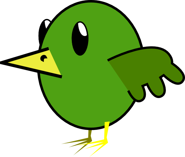 Animated Bird Cliparts.