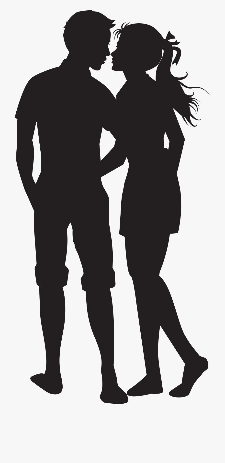 727,05kb Couple Clipart Silhouette.