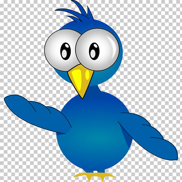 Bird Cartoon Animation , Free Bluebird PNG clipart.