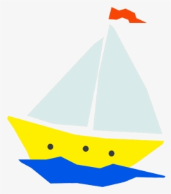 Image Of Animated Boats.