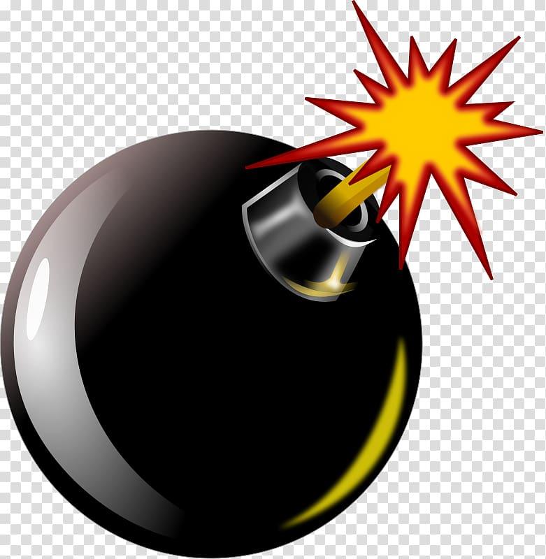 Bomb illustration, Bomb Explosion Nuclear weapon , Bomb.