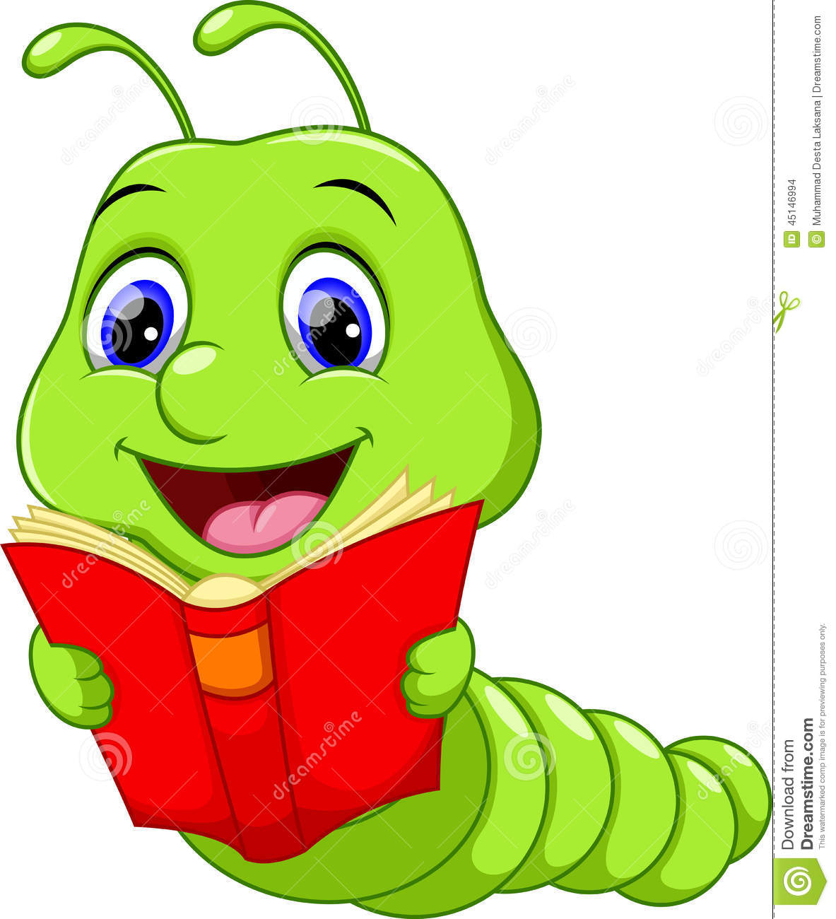 Animated Worm Clipart.