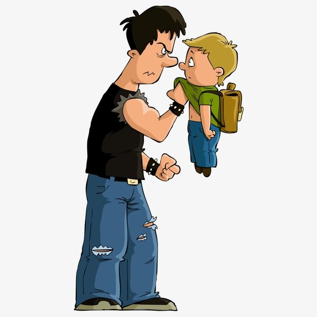 Students Bully Child, Character, Cartoon Characters.