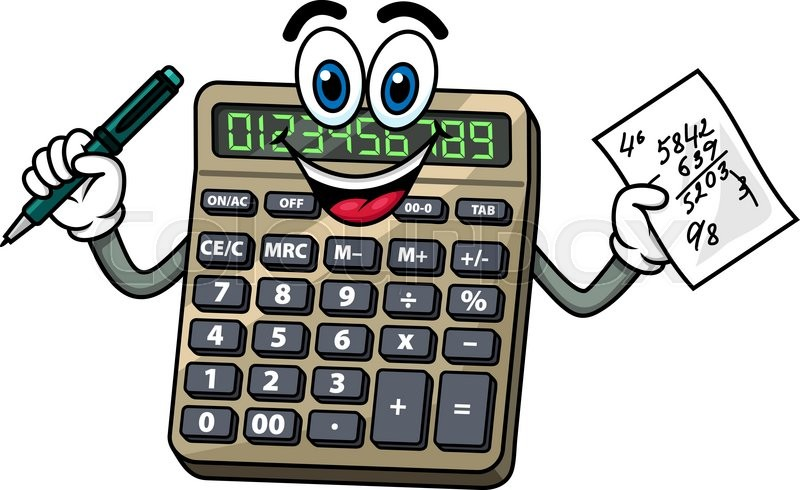 737 Calculator free clipart.