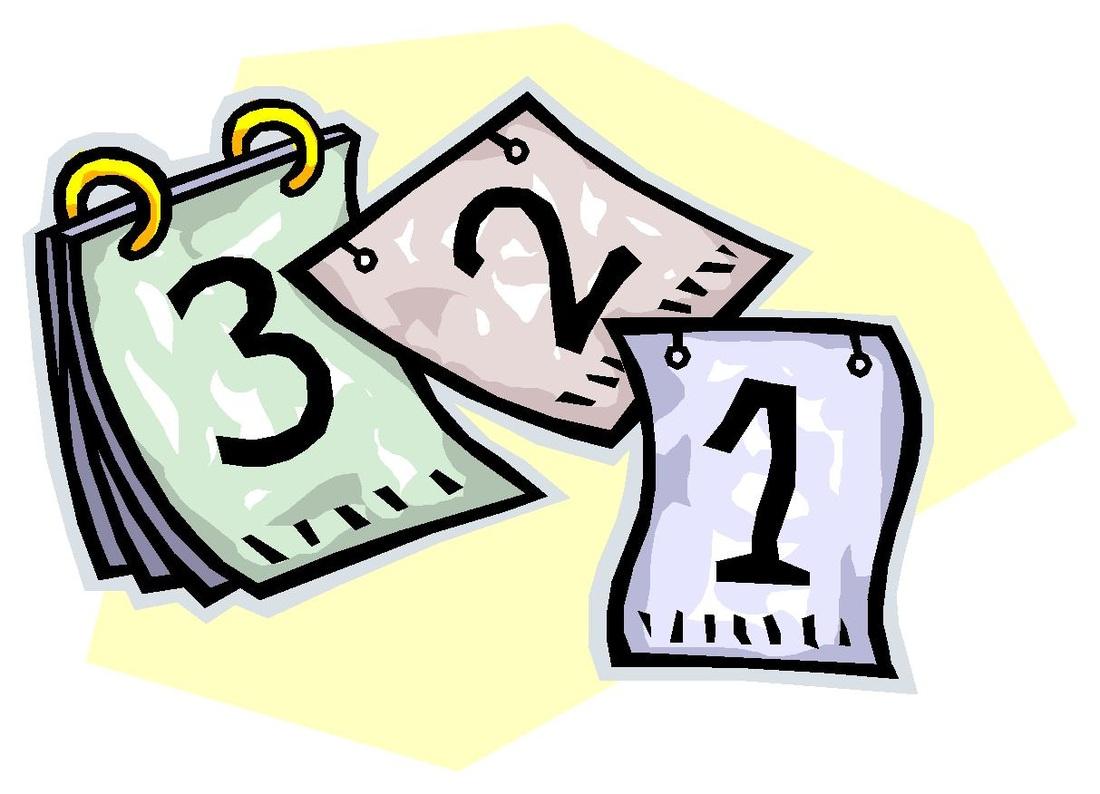 Animated Calendar Clipart.