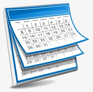 Free Calendar Clip Art with No Background.
