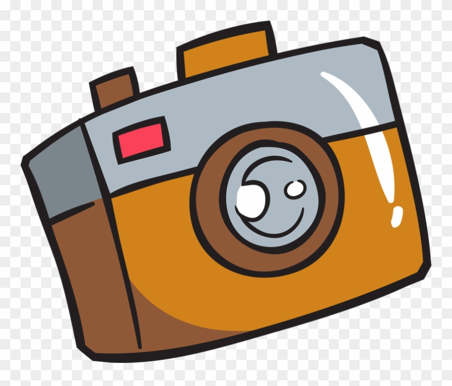 Camera Cartoon Png.