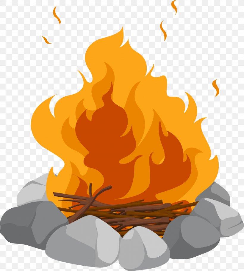 Campfire Cartoon Bonfire Clip Art, PNG, 1691x1873px.