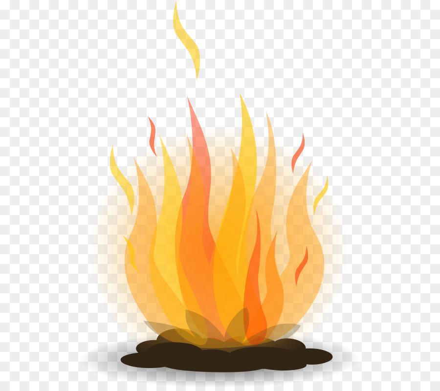Campfire Cartoon.