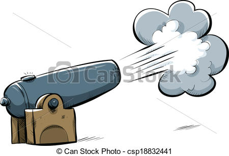 Shooting Cannon Clipart.