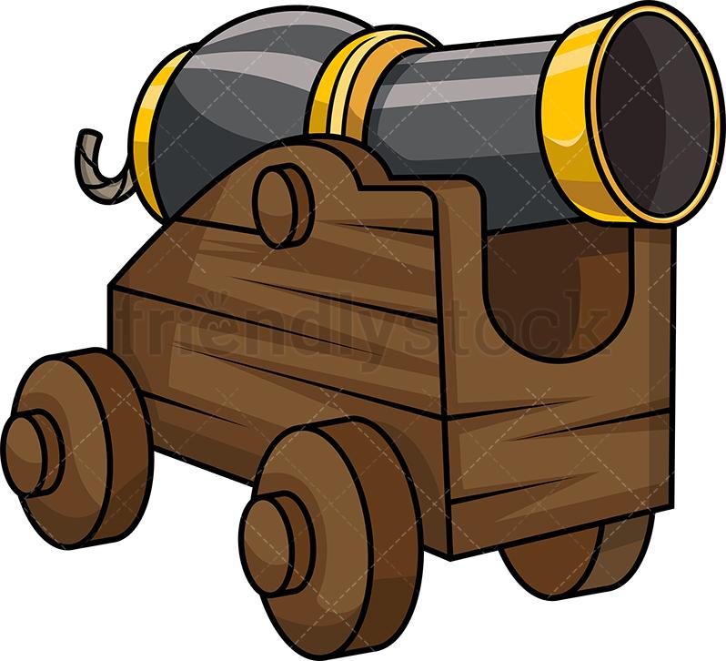 Pirate Ship Cannon.