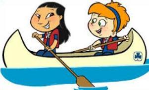 Canoe clipart animated, Canoe animated Transparent FREE for.