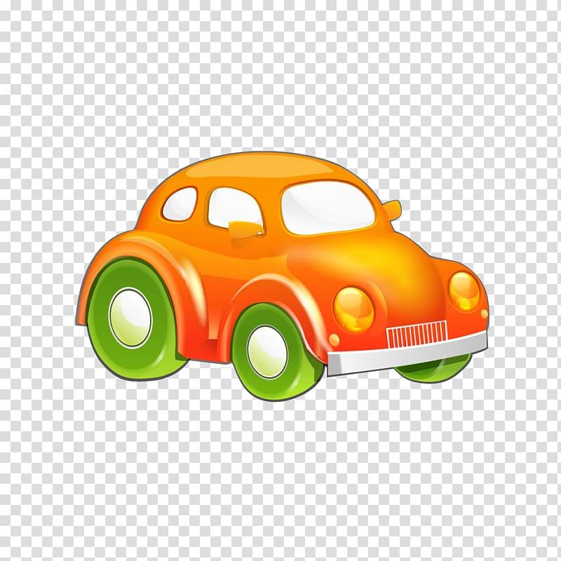 Cartoon Drawing, Cartoon car transparent background PNG.