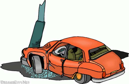 314 Car Crash free clipart.