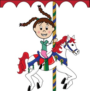 Free Carousel Horse Clipart Image 0515.