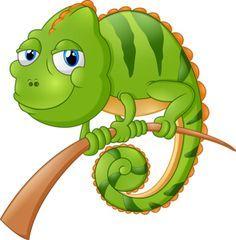 Chameleon clipart animated, Chameleon animated Transparent.