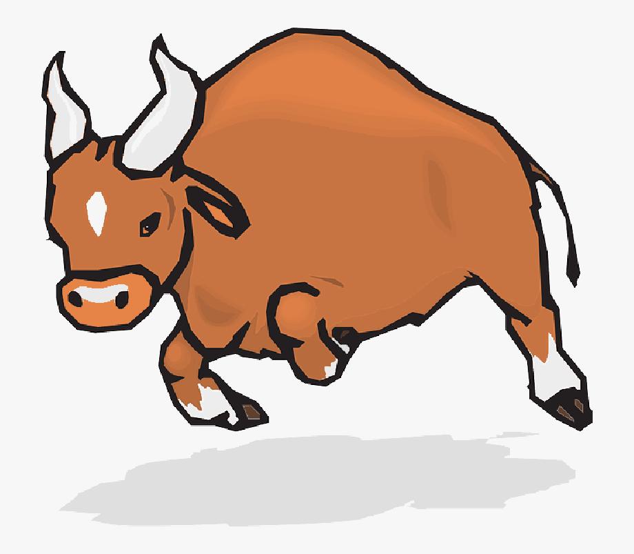 Angry Bull Horns Animal Matador Attack Charging Ⓒ.