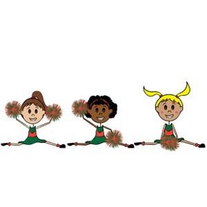 Free animated cheerleader clipart 3 » Clipart Portal.