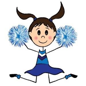 Animated cheerleader clipart 3 » Clipart Portal.