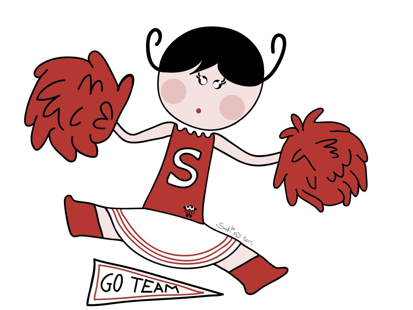 Free Cheerleader Cartoon Pictures, Download Free Clip Art.