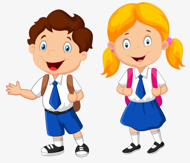 School Children, Children, Clipart, School PNG Transparent Clipart.