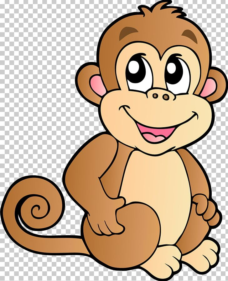 Baby Monkeys Chimpanzee Cartoon PNG, Clipart, Animals.