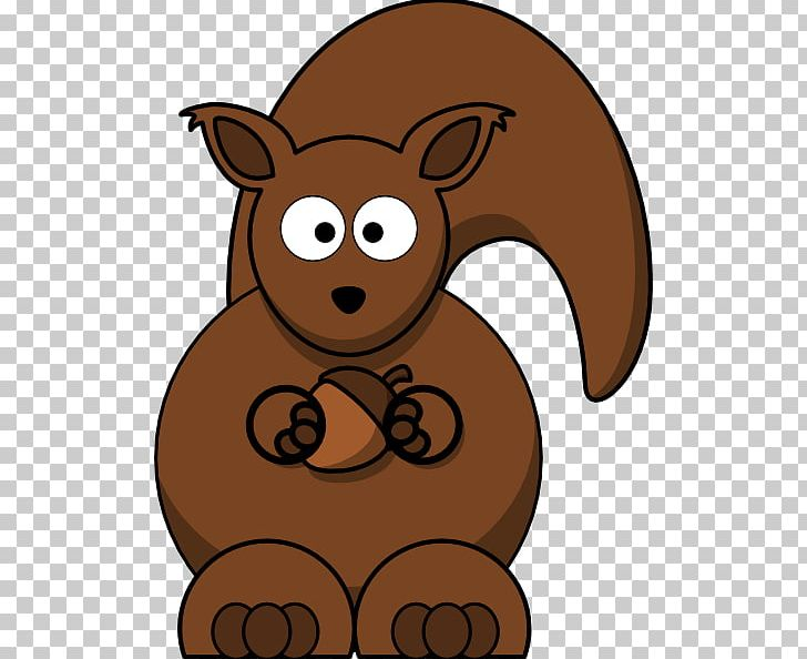 Squirrel Cartoon Chipmunk PNG, Clipart, Art, Bear.