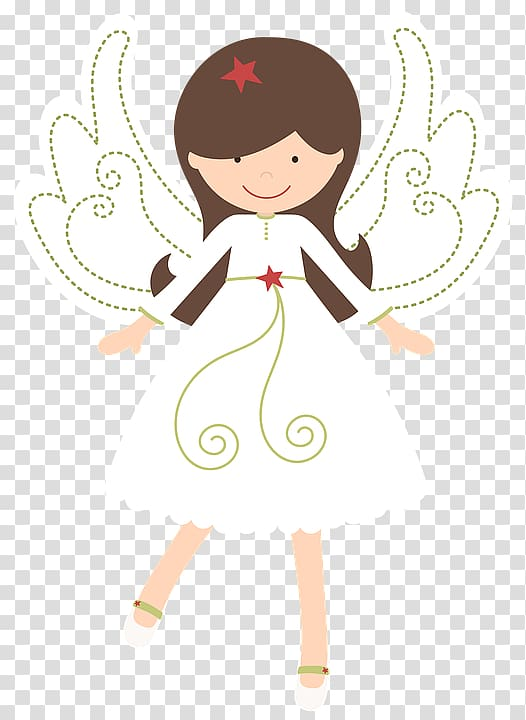 Angel animated , Cherub Angel Girl Baptism Illustration.