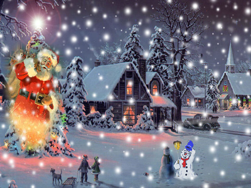 48+] Animated Christmas Wallpapers for Desktop on.