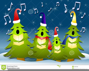 Free Clipart For Christmas Carolers.