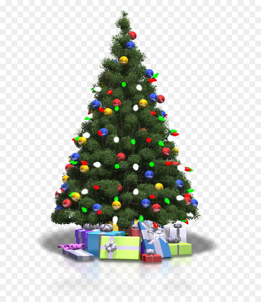 Christmas Tree Lights png download.