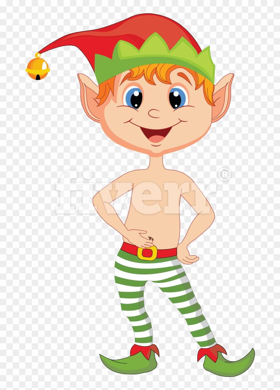 Animated Christmas Elf Clipart (#1317602).