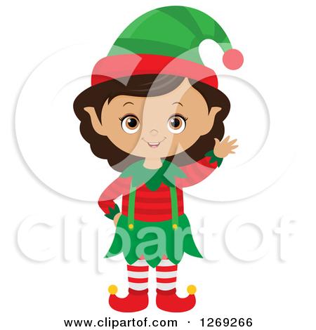Showing post & media for Cartoon girl elf clip art.