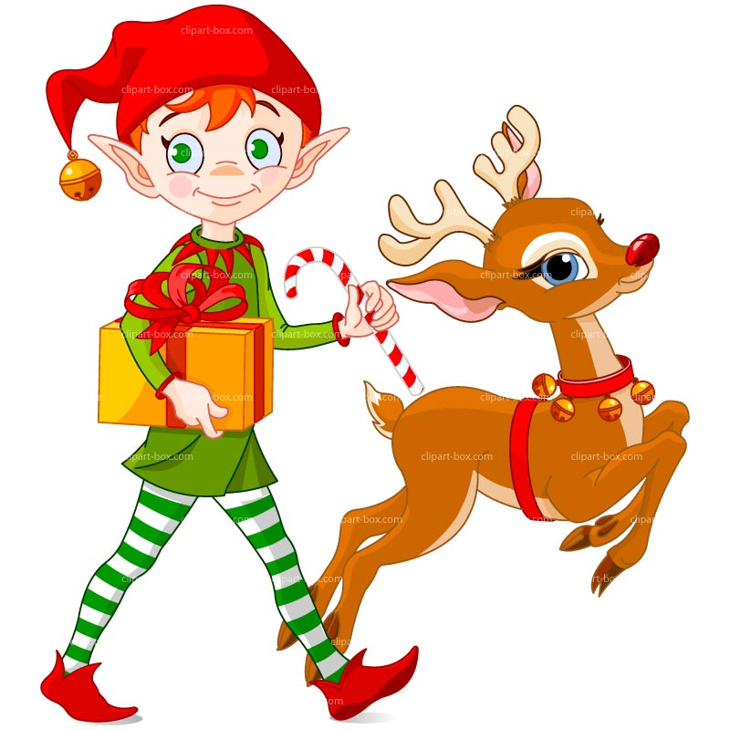 Showing post & media for Cartoon christmas elf clipart.