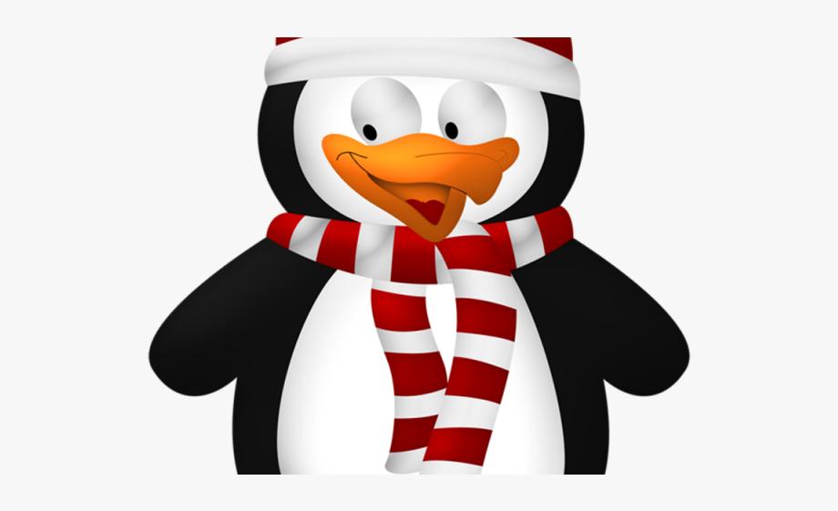 Christmas Penguin Clipart.
