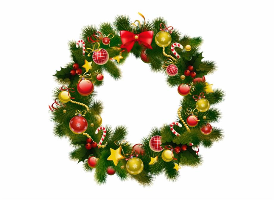 Christmas Wreath Photo Frame Sticker Pinterest.