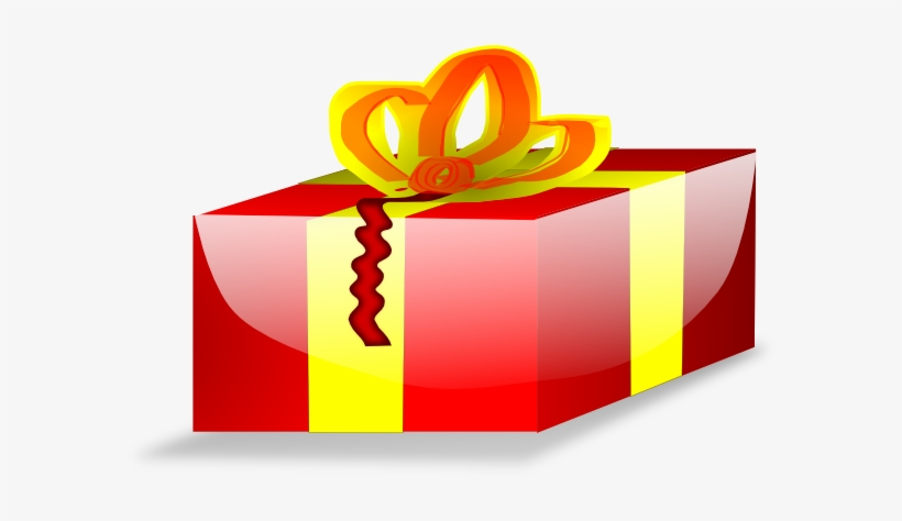 Red Wrapped Christmas Present Clip Art At Clker Com.